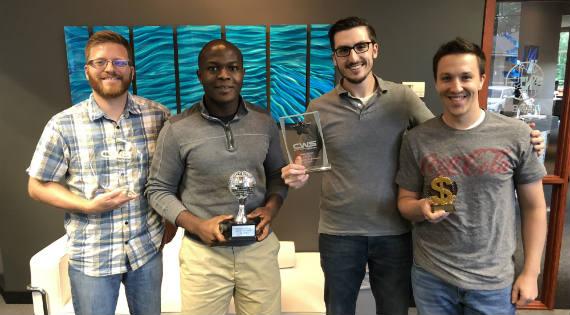 Alignment meeting award winners