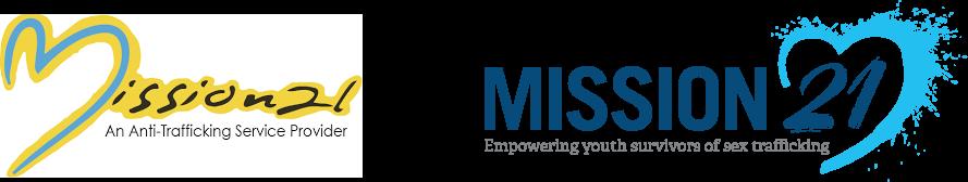 Mission 21 Old vs New Logo Design